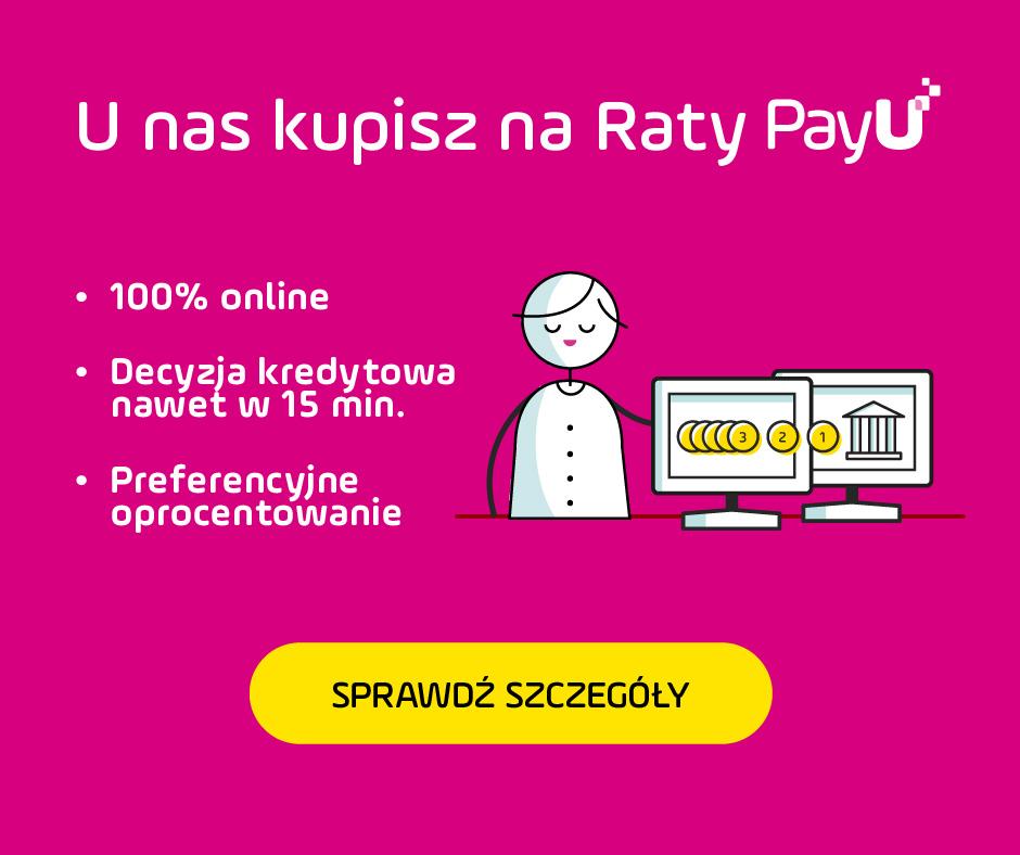 Kupuj na raty z PayU